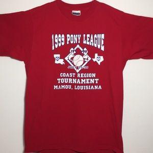 NWOT Vintage PONY League Baseball T-shirt